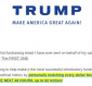 3 Lessons From Trump's Spammed Fundraising Email