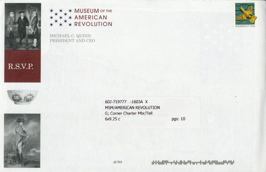 Museum AR direct mail