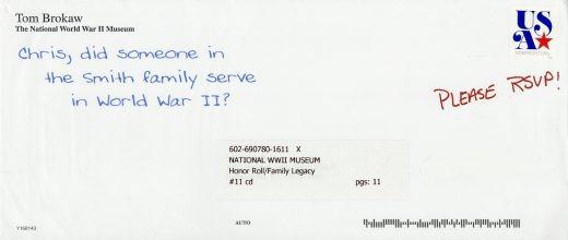 National World War II Museum direct mail