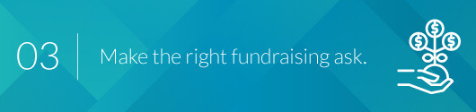 Make the Right Fundraising Ask to the Right Donors