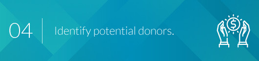 Identify and Attract Potential Donors