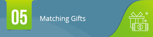 Implement Matching-Gift Technology