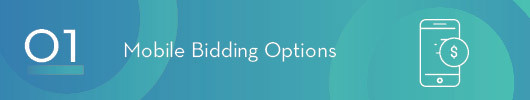 Provide Mobile Bidding Options