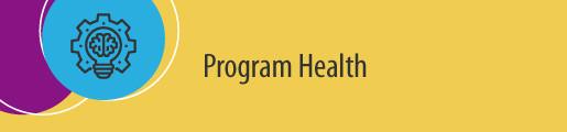 Program Health Metrics