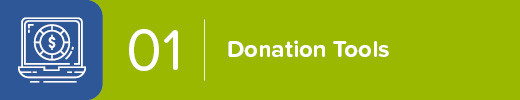 Use Simple But Fully Customizable Donation Tools