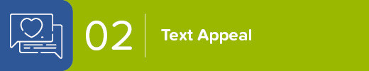 2. Refine Your Text Appeal on the Donation Page