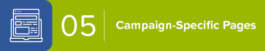 5. Create Campaign-Specific Donation Pages
