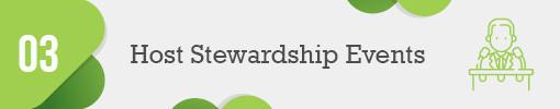 3. Host Virtual Stewardship Events