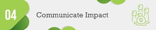4. Communicate Donation Impact