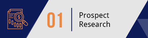 Conduct Prospect Research to Find Potential New Major Donors