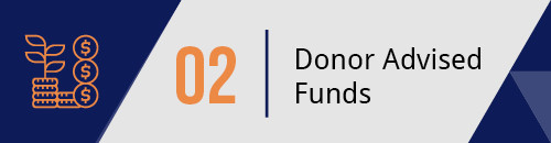 Consider Donor-Advised Funds