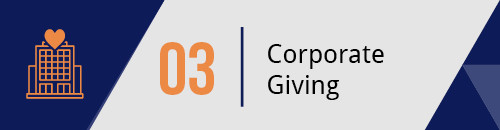 Explore Corporate Giving Opportunities